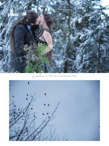 elopement mariage sauvage nature